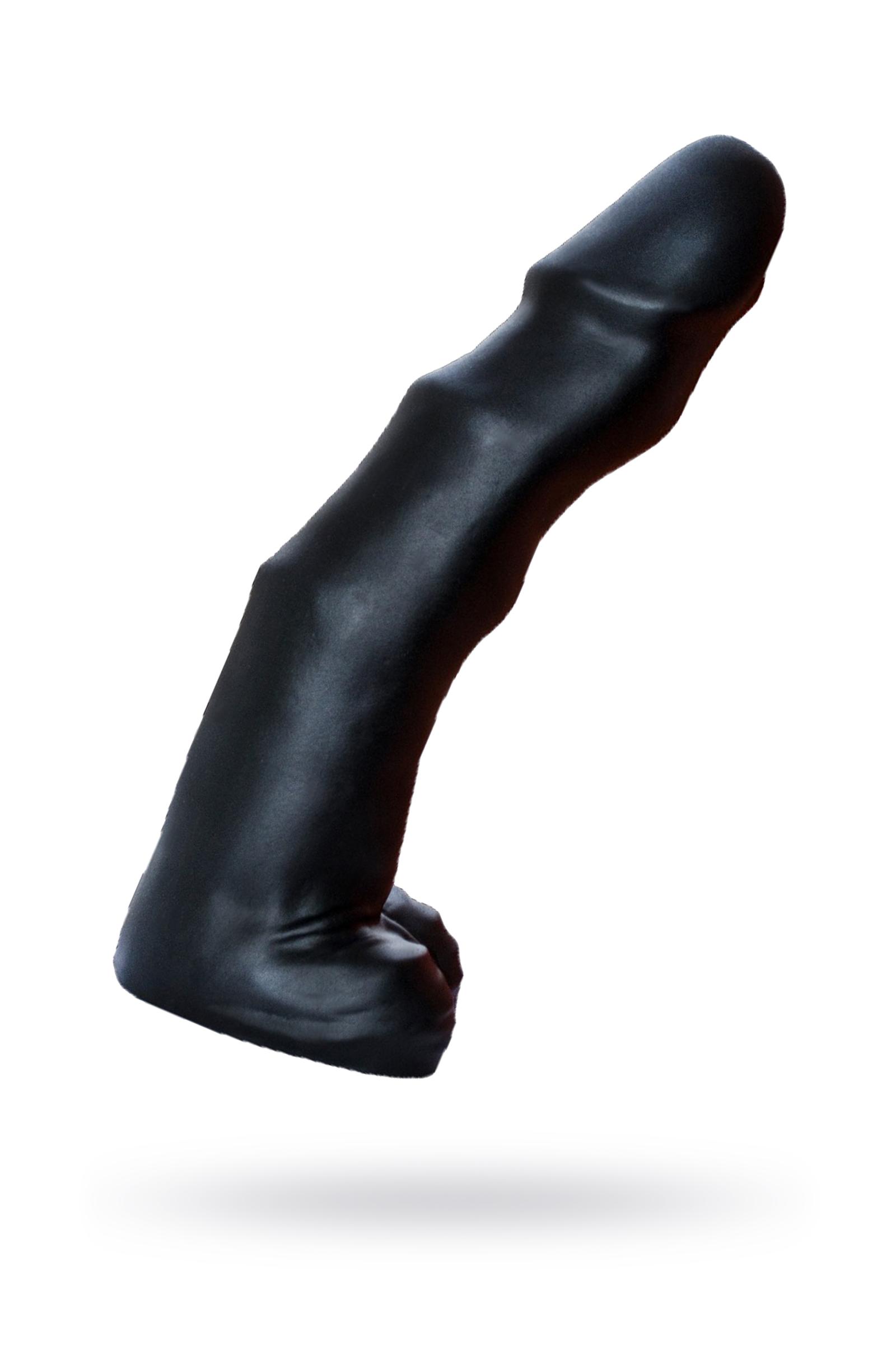 Фаллоимитатор-супергигант TYRANT Lovetoy, ПВХ, черный 36 см