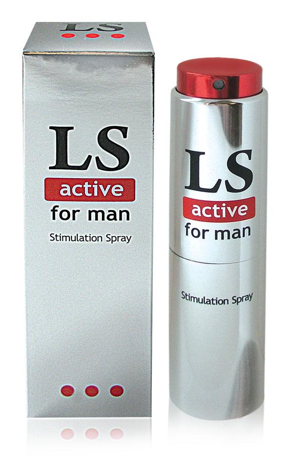 Спрей для мужчин (стимулятор) LOVESPRAY ACTIVE 18гр