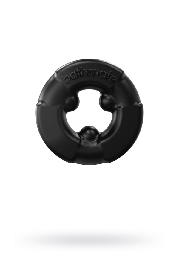 Эрекционное кольцо на пенис Bathmate Gladiator, elastomex, чёрное, 4,5 см