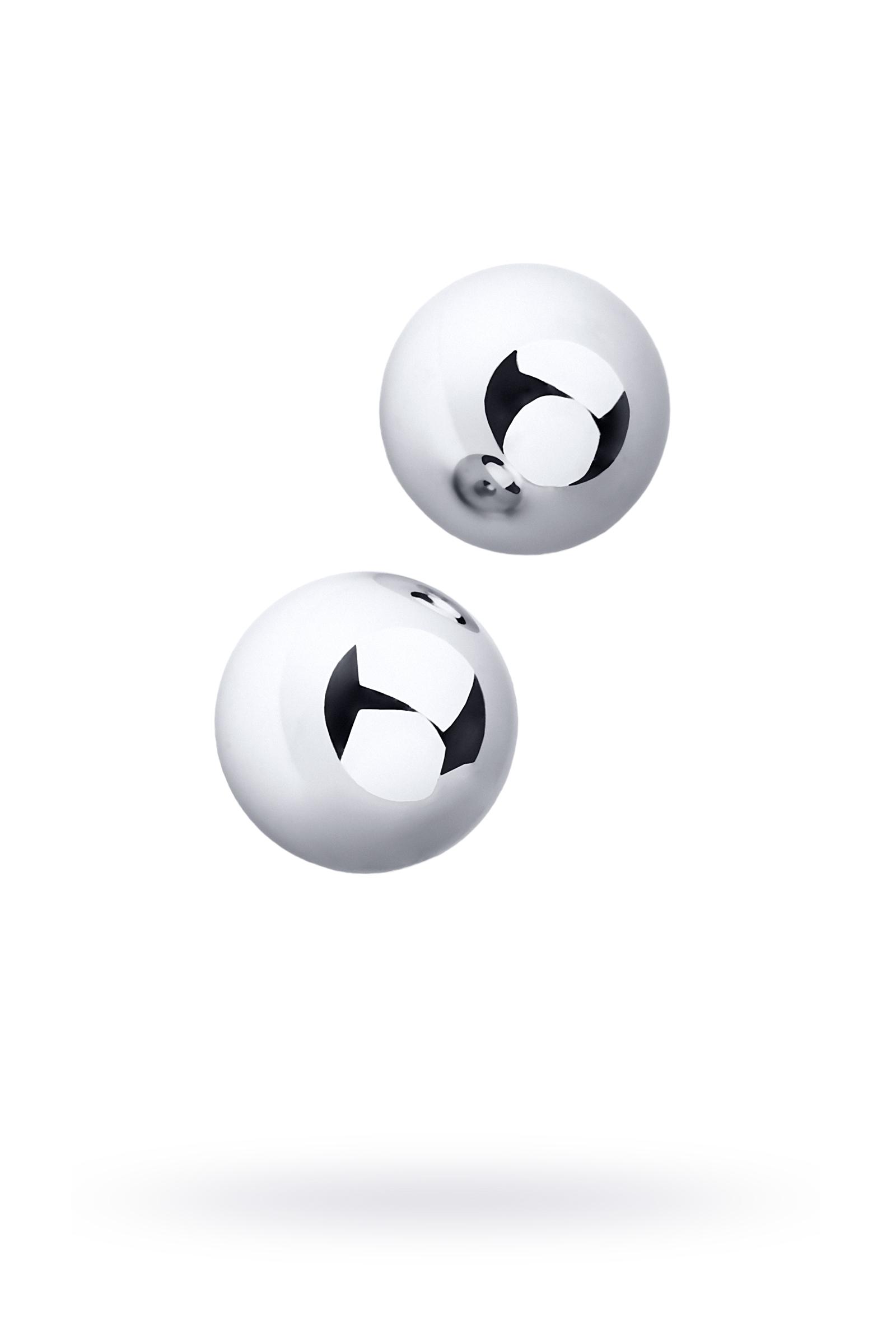 Вагинальные шарики Metal by TOYFA, металл, серебристые,  3 см