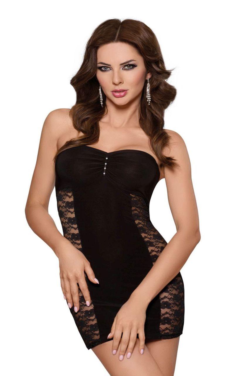 Платье SoftLine Collection Berenice, чёрный, L