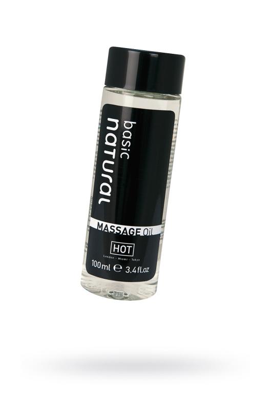 Массажное масло для тела HOT Basic Natural,100 мл