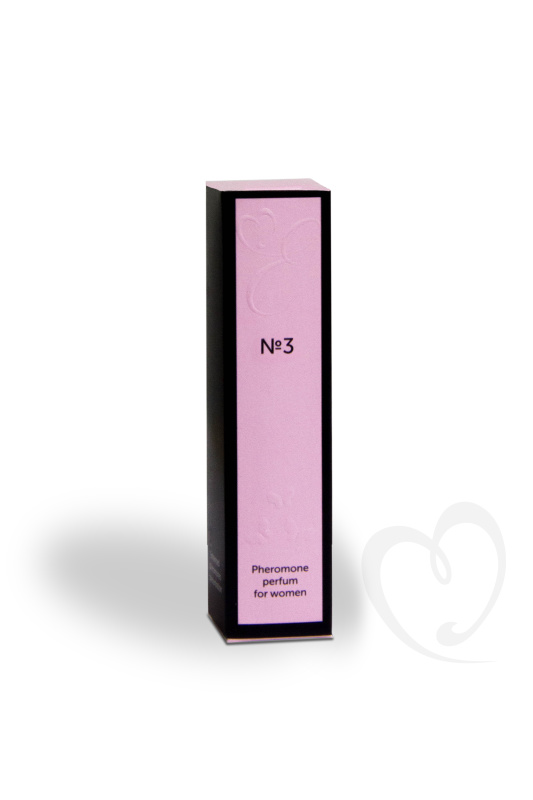 Духи с феромонами Eromantica №3 с философией парфюма Givenchy Hot Couture, женские, 10 мл