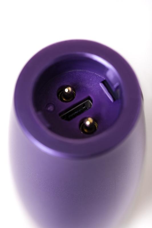 Нереалистичный вибратор Le Stelle PERKS SERIES EX-1, Силикон, Фиолетовый, 17 см