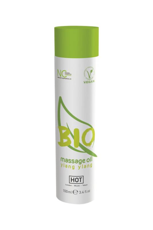 Массажное масло HOT BIO Massage oil ylang ylang 100 мл