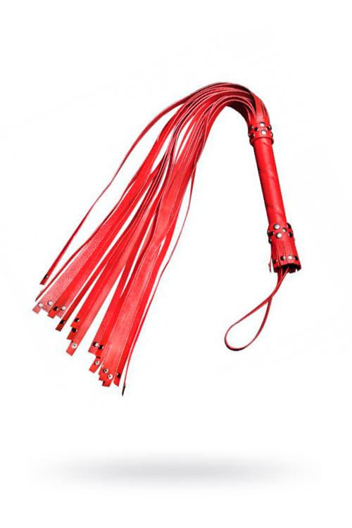 Плеть Sitabella красная 78 см,кожа