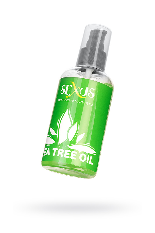 Массажное масло Sexus с ароматом чайного дерева Tea tree Oil 200 мл