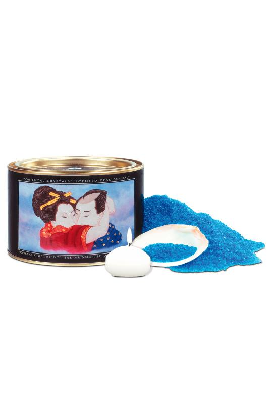 Соль для ванны «Океанский бриз» /Соль, свеча/ 600 г