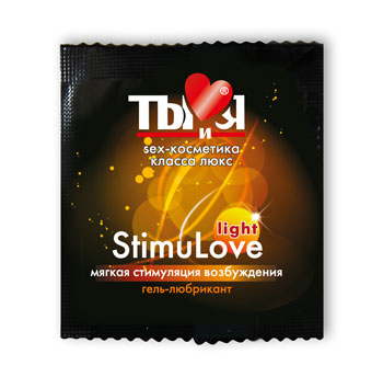 Гель-любрикант Ты и Я ''StimuLove light'' возбужд. 4г
