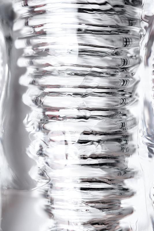 Мастурбатор нереалистичный Lingam by TOYFA  Asha, TPE, Прозрачный, 14 см