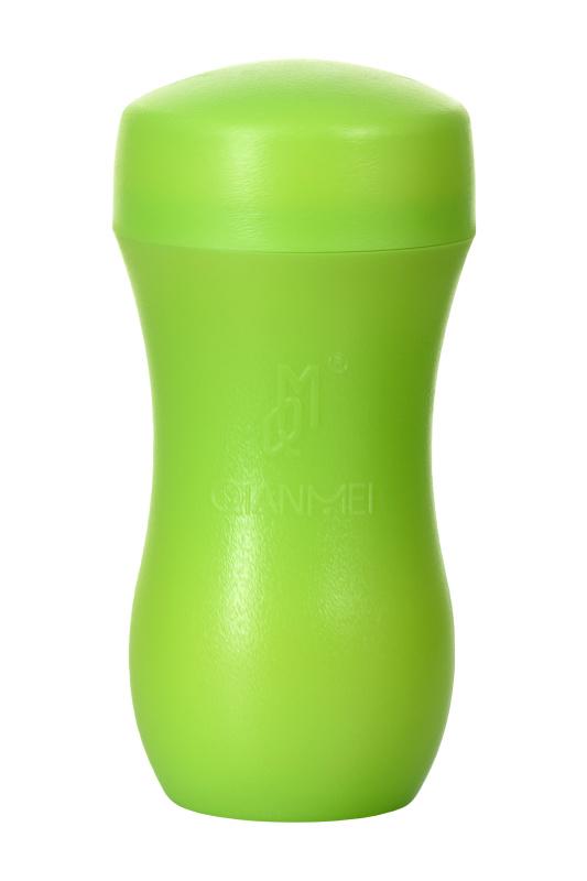 Мастурбатор вагина TOYFA A-Toys зеленый/телесный 14cm