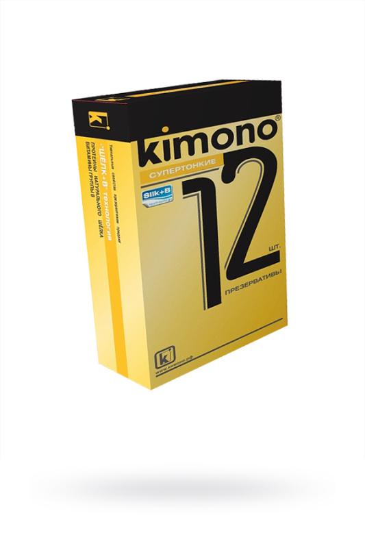 Презервативы КИМОНО супертонкие № 12, 12 шт.