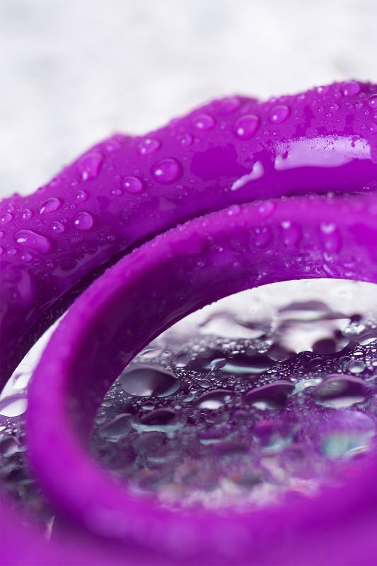 Эрекционное кольцо на пенис JOS  GOOD BUNNY, Силикон, Фиолетовый, 9 см
