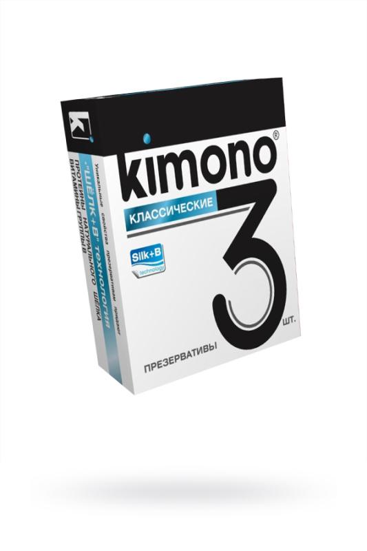 Презервативы КИМОНО классические № 3, 12 шт.