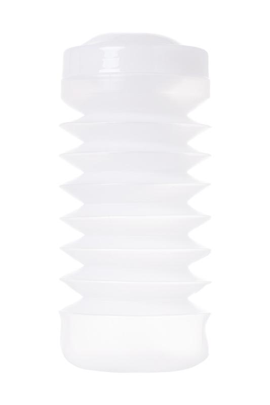 Мастурбатор нереалистичный Lovegame High pressure convex, TPE, белый, 15 см