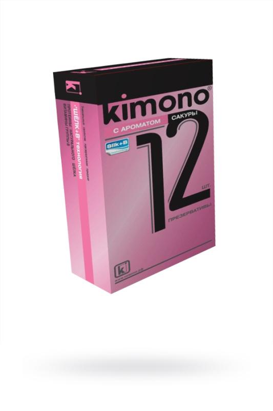 Презервативы КИМОНО с ароматом сакуры № 12, 12 шт.