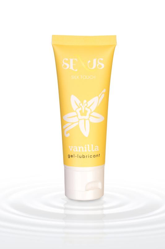 Гель-лубрикант Sexus на водной основе с ароматом ванили Silk Touch Vanilla, 50 мл