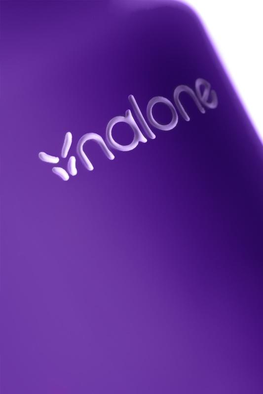 Вибромассажер Nalone Rock, Силикон, Фиолетовый, 19,2 см