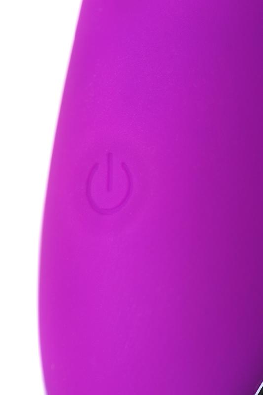 Вибратор с ресничками JOS DESI, силикон, фиолетовый, 18,5 см