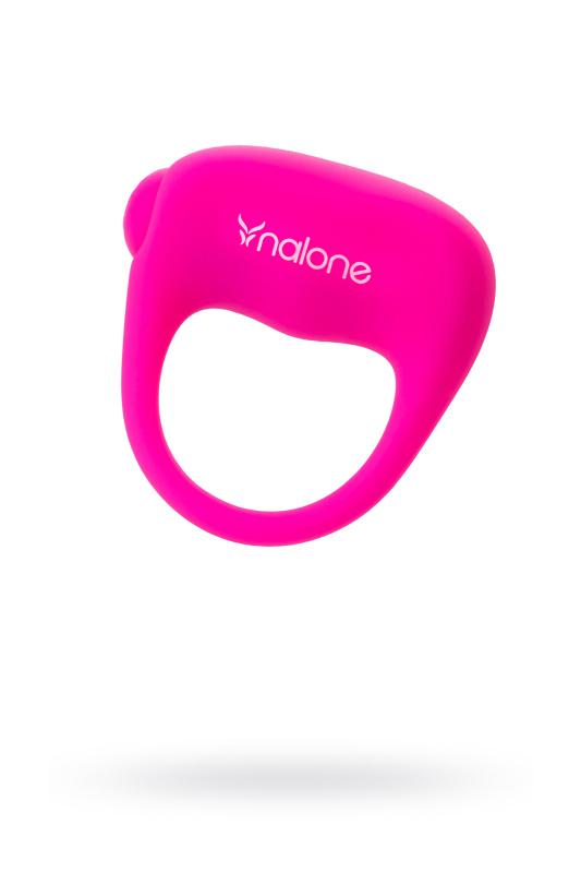 Эрекционное виброкольцо Nalone Ping, силикон, розовый, 4 см