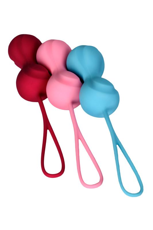 Набор вагинальных шариков Satisfyer  Balls C02 Double, Силикон, Ассорти, Ø 3,2 см