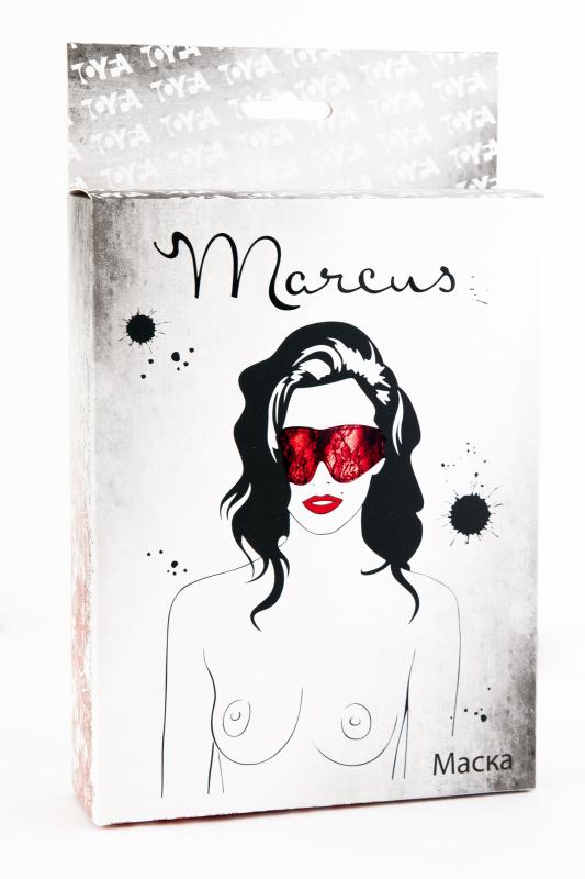 Кружевная маска TOYFA Marcus красная
