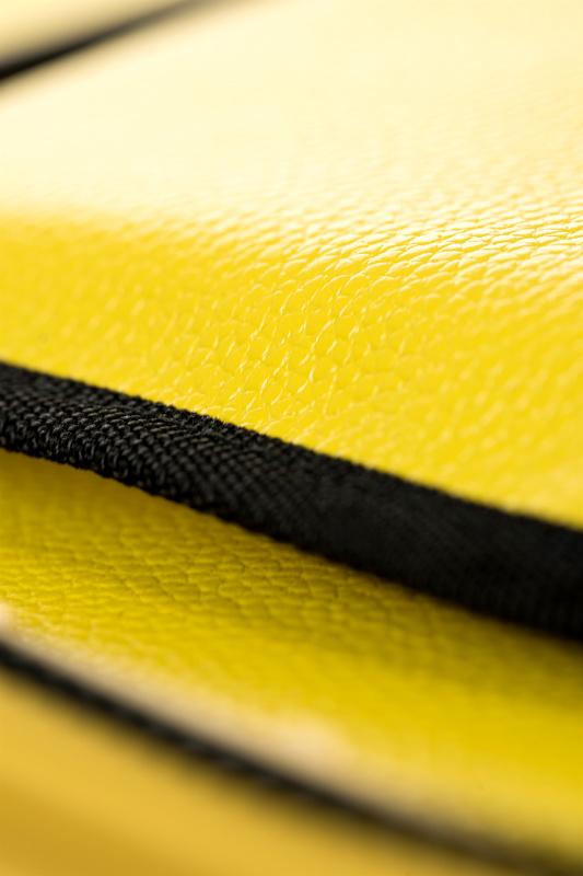 Секс-машина *uckBag, MotorLovers, ABS, желтый, 22 см