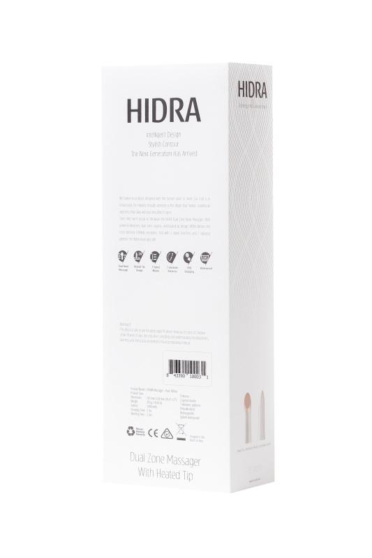 Нереалистичный вибратор Le Stelle HIDRA , Силикон, Белый, 27 см