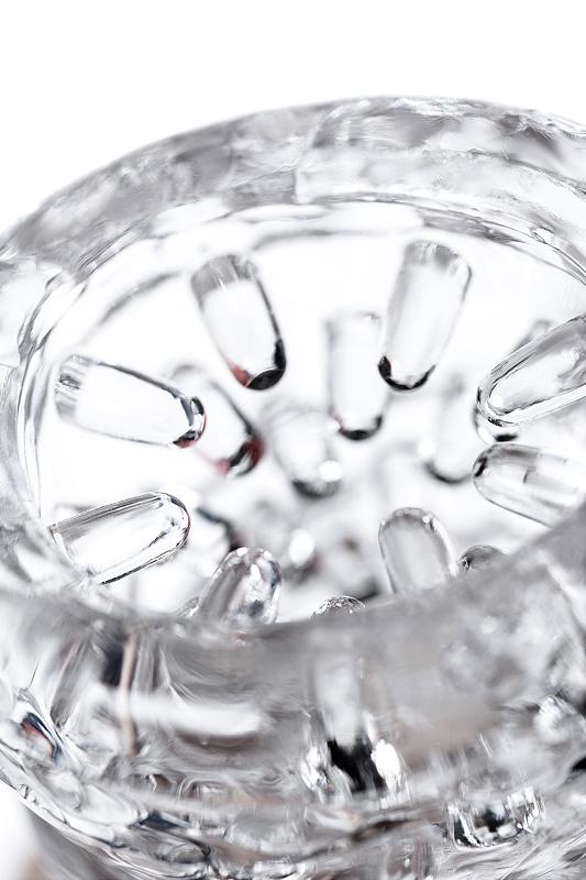 Мастурбатор нереалистичный Lingam by TOYFA  Savitri, TPE, Прозрачный, 15 см
