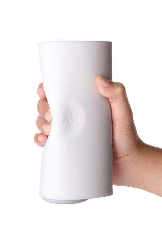 Мастурбатор нереалистичный Sense Max  , Силикон, Белый, 18,5 см