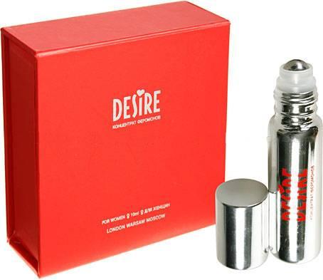 Desire концентрат феромонов б/запаха 10мл жен