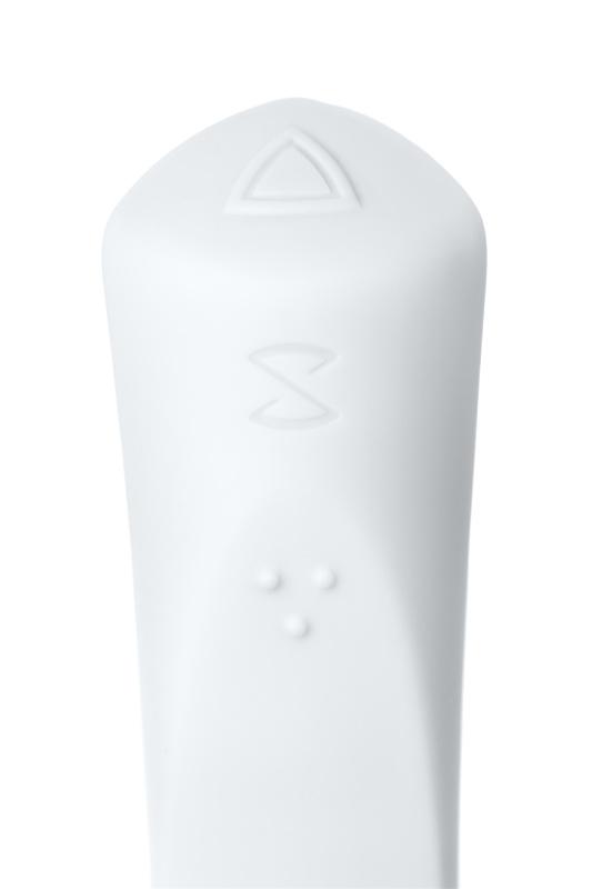 Вибратор, Sirens, Venus, силикон, белый, 22 см