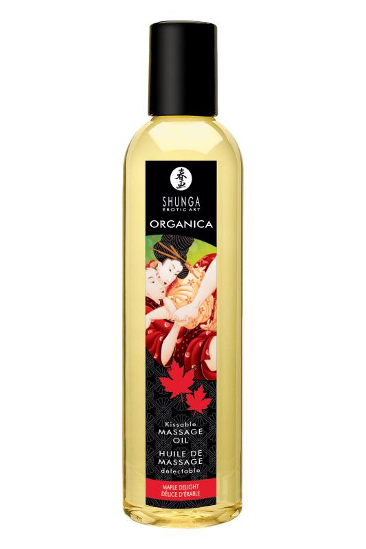 Возбуждающее массажное масло Shunga Organica Кленовый восторг, 250 мл