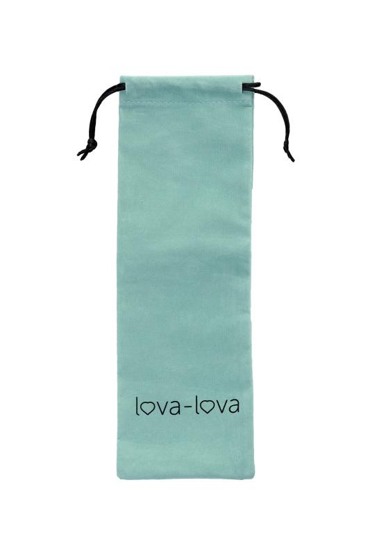 Вибратор с клиторальным стимулятором lova-lova  Loa, Силикон, Розовый, 20,4 см