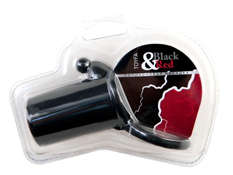 Насадка силиконовая, черная