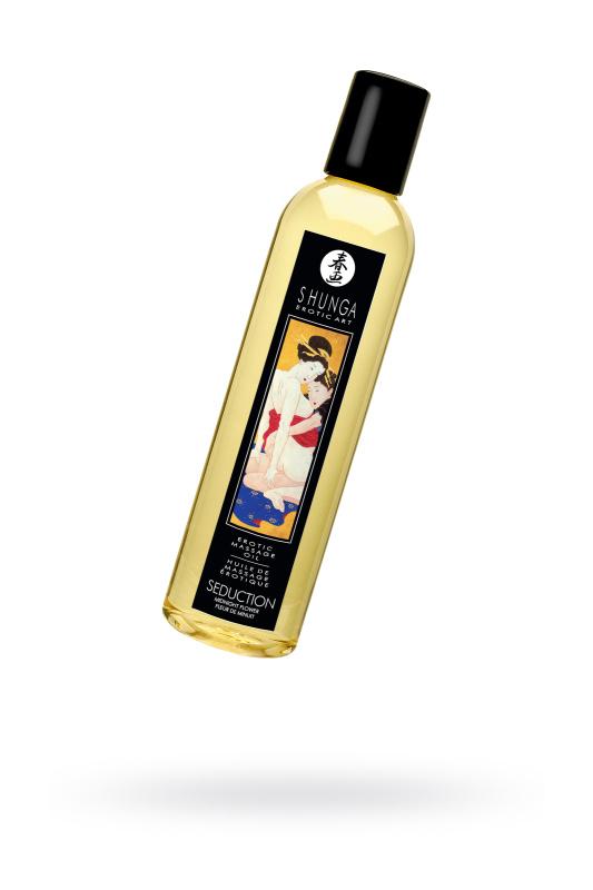 Массажное масло Shunga Полуночный цветок, возбуждающее, натуральное, 250 мл
